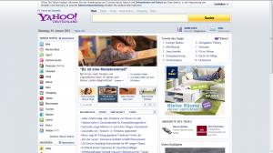 Yahoo als Suchmaschine