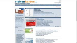 visitenkarten.com