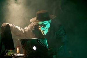 Anonymous Hacker - Anonymous Hacker von  Brian Klug unter der CC Lizenz